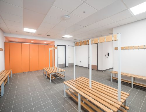 Cardinal Hume Changing Rooms